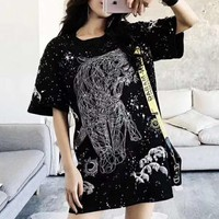 Givenchy Woman Men Fashion Tunic Shirt Top Blouse