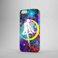 Sailor Moon In Galaxy Fox iPhone Case Galaxy Case 3D Case