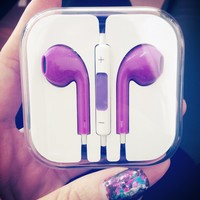 in Ear Headphones with Remote for iPhone 5