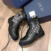 Christian Dior new high recognition locomotive boots Shoes