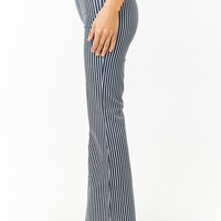 Striped Flare Jeans