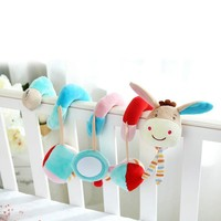 Baby play Baby Toys Infant Toys Baby Crib Revolves Around The Bed Stroller Playing Toy Crib Lathe Hanging bell Rattles Mobile
