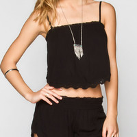 O'neill Honey Womens Crop Top Black  In Sizes