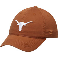 Texas Longhorns Top of the World Solid Crew Flex Hat - Texas Orange