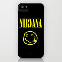 Nirvana iPhone & iPod Case by Amber Rose | Society6