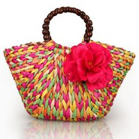 Fashion  straw bag summer beach bags