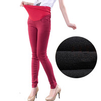 Maternity Pants High Waist Casual Pregnancy Clothes