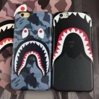 Ape Shark Mouth Fish Eye All-inclusive Soft Iphone Protective Case