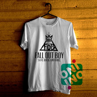 Fall Out Boy, Save Rock and Roll Tshirt For Men / Women Shirt Color Tees