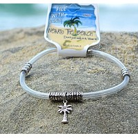 Palm Tree Charm Anklet Ankle Bracelet