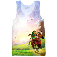 The Legend of Zelda Ocarina of Time Tank