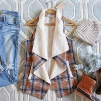 Fable & Plaid Vest