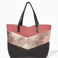 Picadilly Chevron Tote   Charming Charlie