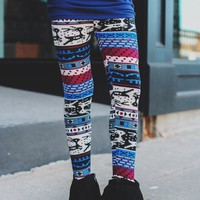 Sleigh Bells Leggings - Kids