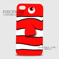 Nemo clownfish 3D Image Cases for iPhone 4/4S, iPhone 5/5S, iPhone 5C, iPhone 6, iPhone 6 Plus, iPod 4, iPod 5, Samsung Galaxy (S3, S4, S5, S6) by FixCenters