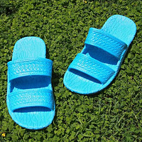 kids sky blue classic jandals® -  pali hawaii Jesus sandals
