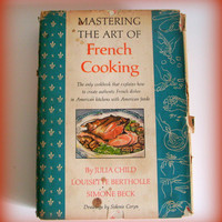 Vintage Cookbook Julia Child Mastering the Art of French Cooking 1966 Edition