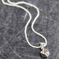 Han Cholo Dice Necklace- Silver One