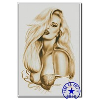 Top Quality Beautiful Lovely Counted Cross Stitch Kit Seduce Sexy Naked Lady Woman Girl