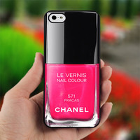 Pink Nail Polish - Girly Make Up - Photo on Hard Cover for iPhone 5