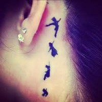 peter pan tattoo - Google Search