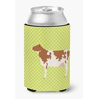 Ayrshire Cow Green Can or Bottle Hugger BB7653CC