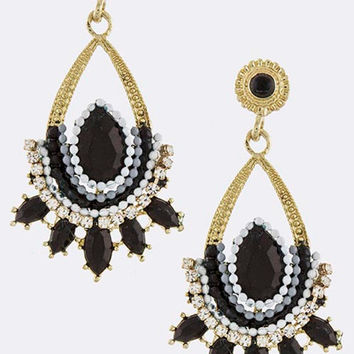 Black Nirvana Earrings