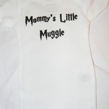 Mommy's Little Muggle Baby Bodysuit.