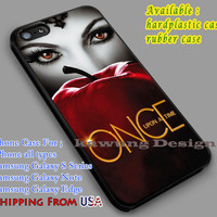 Once Upon a Time iPhone 6s 6 6s+ 6plus Cases Samsung Galaxy s5 s6 Edge+ NOTE 5 4 3 #movie #disney #animated #onceuponatime dl5