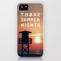 Those Summer Nights iPhone Case by Pepe Rodriguez | Society6