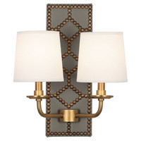 Williamsburg Lightfoot Wall Sconce | Dark Grey