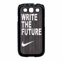 Nike Write Future Wood Samsung Galaxy S3 Case