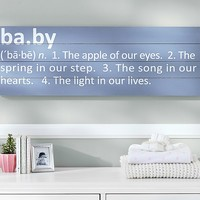 Baby Sentiment Plaque | Pottery Barn Kids