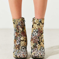 Emma Floral Jacquard Ankle Boot | Urban Outfitters