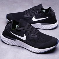 NIKE Free Rn Fashion socks shoes fly line running shoes F-CSXY black