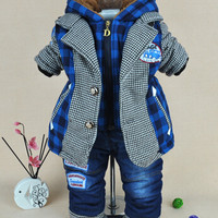 Little Boys Plaid and Gingham English Style