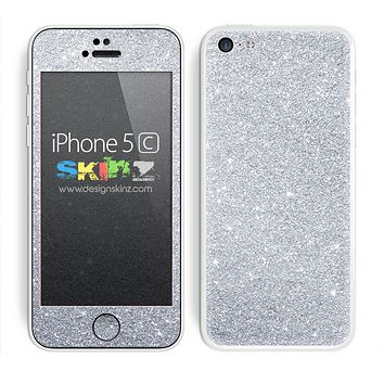 Silver Glitter Ultra Metallic Skin For The iPhone 5c