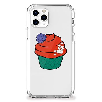 Mermaid Theme Cupcake iPhone Case