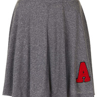 Grey Marl 'A' Skater Skirt - New In This Week - New In - Topshop USA