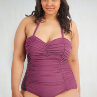 Sublime After Time One-Piece Swimsuit in Plus