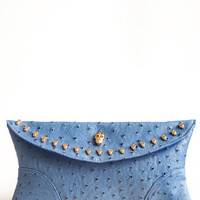 Skull Legend Clutch - $34.00: ThreadSence, Women's Indie & Bohemian Clothing, Dresses, & Accessories