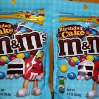 M&Ms Birthday Cake Flavor 8oz Bags (2 Pack)