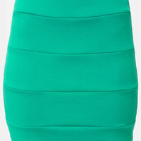 It's Electrifying Sea Green Mini Skirt