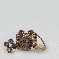 AEO Stones Ring 5-Pack , Gold