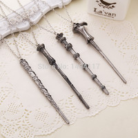 Harry Potter Elder Wand Style Necklace