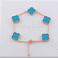 8DESS Van Cleef & Arpels Women Fashion Chain Bracelet