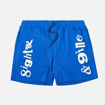 Playing Terry Shorts Blue
