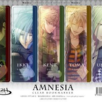 Amnesia - Clear Bookmark 4 by Gift