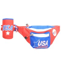 Red USA Fanny Pack w/ Koozie | Tipsy Elves