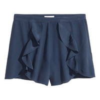 H&M Shorts with Flounces $24.99
